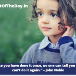 Thought Of The Day in English For School Assembly
