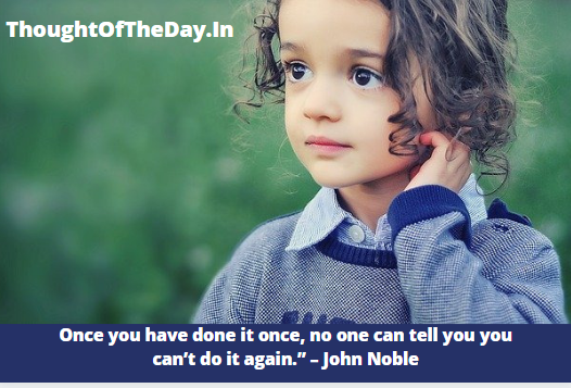 Thought for The day for school assembly | Thought Of the Day For Kids
