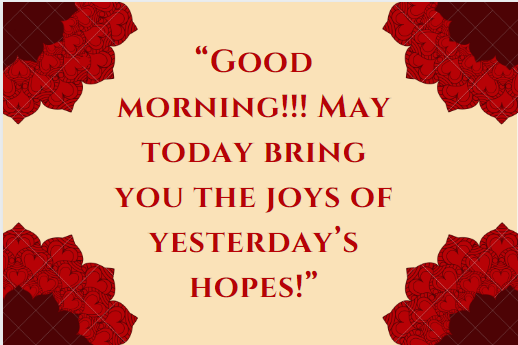 Good Morning Thoughts Messages
