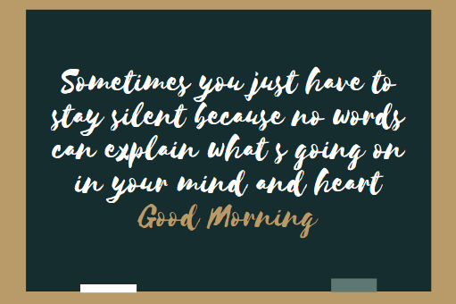 good morning thoughts